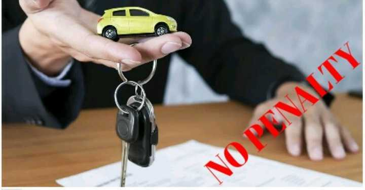 return financed car without penalty