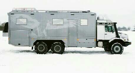6x6 expedition vehicle