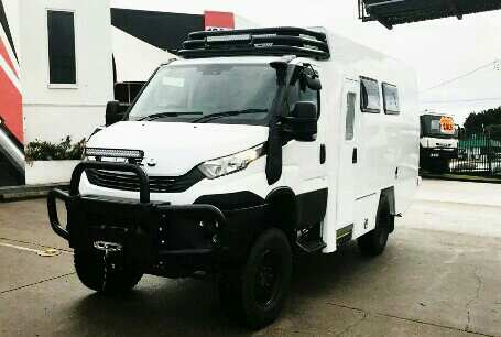iveco daily expedition trucks