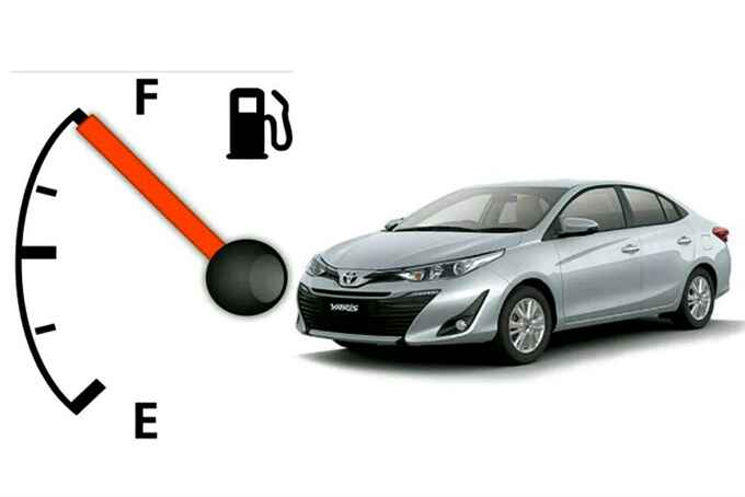 low fuel consumption Toyota cars