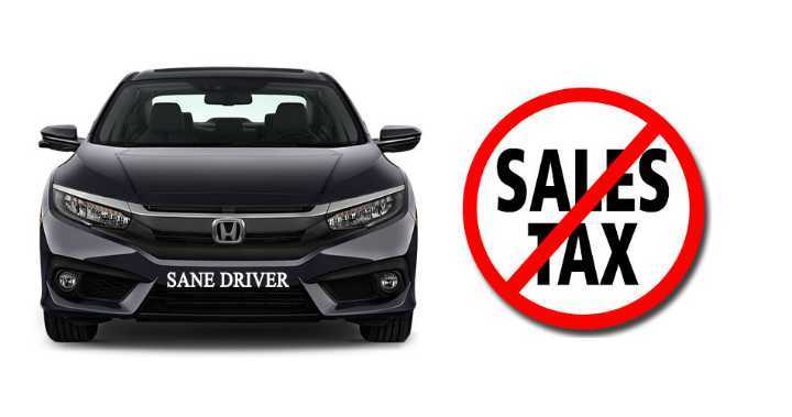 how to avoid sales tax on a car