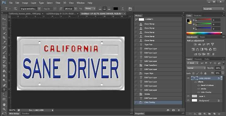 How much does it cost to create your own license plate