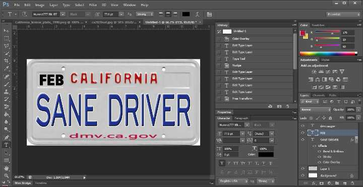 Can you customize your license plate