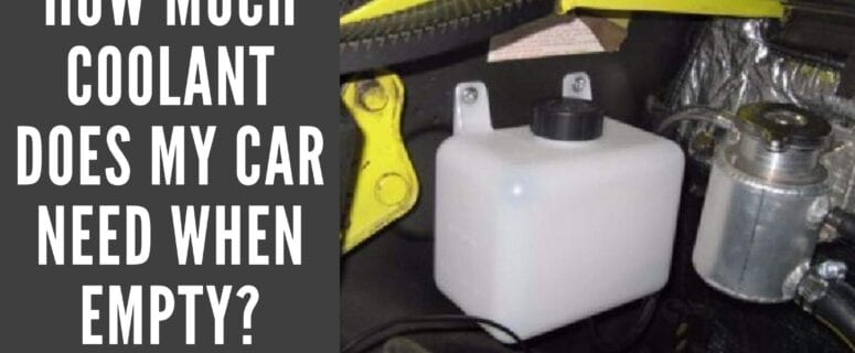 how much coolant does my car need featured image