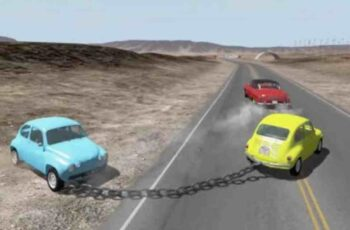 how to tow a car with a chain