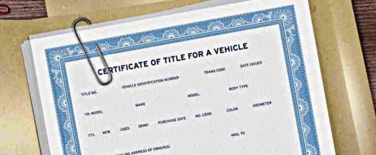 how to prove I sold my car